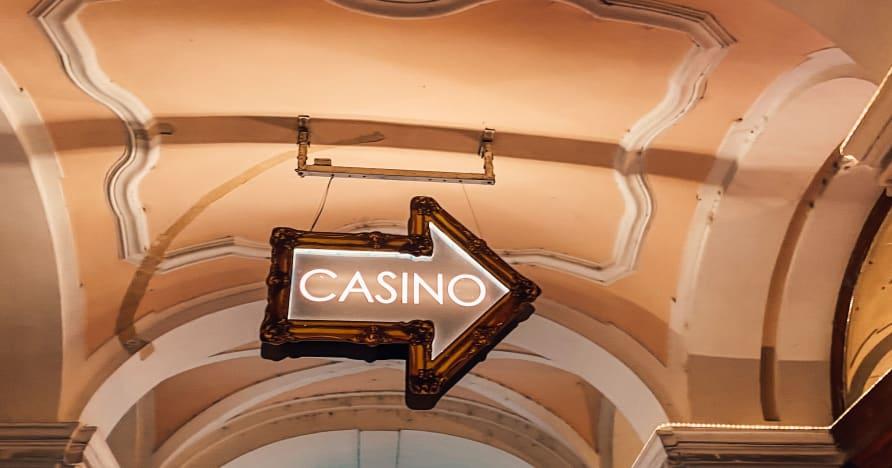 Glücksspiel in einem Live-Spielothek